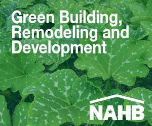 NAHB Green Building, Remodeling and Development